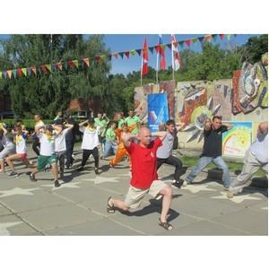 Омские активисты ОНФ присоединились к Всероссийской акции «ГТО со звездой»