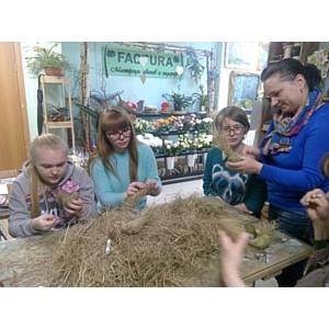 Мастер-класс по флористике состоялся в Дзержинске