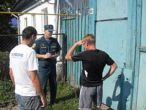 Челябинские активисты ОНФ и сотрудники МЧС провели серию совместных противопожарных мероприятий