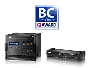 Компания Aten получила две награды 2017 Computex Best Choice Awards