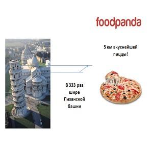 foodpanda: с начала года было съедено более 20 км роллов