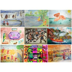 Конкурс рисунков «Дом под счастливой звездой» стал международным