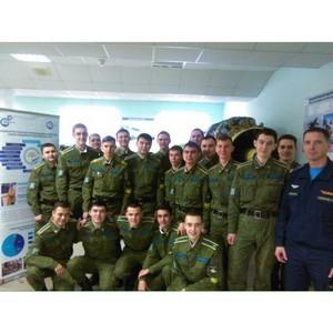 Курсанты Учебного военного центра УГАТУ  посетили УМПО