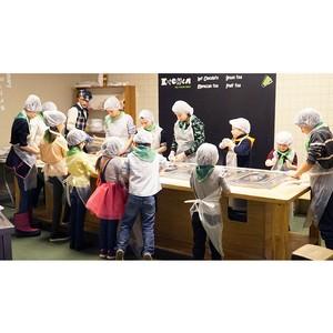 Сеть кафе Kitchen – вкусный партнер на празднике города профессий КидБург