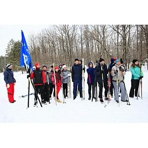 Сотрудники Тамбовэнерго приняли участие в соревнованиях по лыжным гонкам