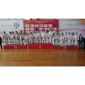 В Пензе завершилось первенство ПФО по дзюдо среди юношей и девушек до 15 лет