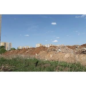 Активисты ОНФ обратились к главе Оренбурга с просьбой принять меры по ликвидации свалки мусора