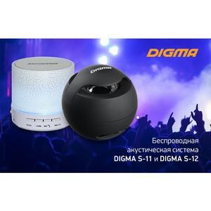 Акустические системы Digma S-11 и S-12: музыка стала вновь портативной