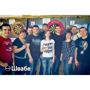 Спортсмены «Швабе» - лучшие в дартсе среди сотрудников предприятий Вологды