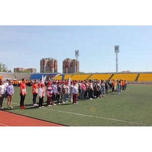 Команда «Молодежки ОНФ» в Приамурье провела акцию «Спортивные выходные»