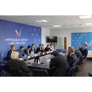 Активисты Народного фронта обсудили реализацию приоритетных проектов ОНФ в Курганской области