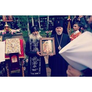 Наталья Поклонская приняла участие в ежегодном Царском Крестном ходе в Екатеринбурге