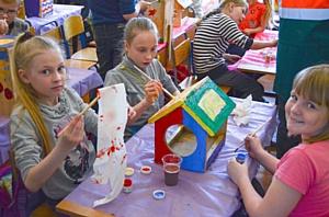 Компания «Лафарж» провела акцию по экологическому воспитанию детей