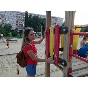 Волгоградская команда «Молодежки ОНФ» продолжает проверку мест отдыха детей