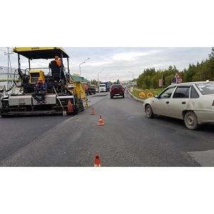 Активисты ОНФ проинспектировали дороги Югры, внесенные в план ремонта на текущий год