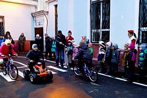 Юных москвичей научат безопасности в «Городе детских дорог»