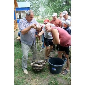 «Липецкцемент» провел традиционные соревнования по рыбной ловле