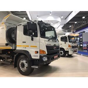 Comtrans 2017 открыла двери перед обновленными модификациями грузовиков Hino 500