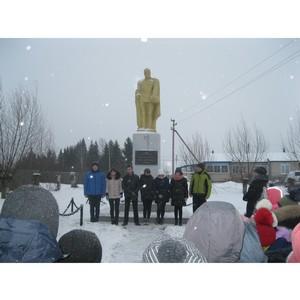 Активисты ОНФ в Костромской области приняли участие в мероприятиях ко Дню неизвестного солдата