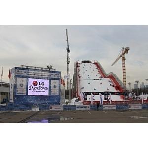 Московский этап Кубка мира LG FIS по сноуборду в параллельном слаломе