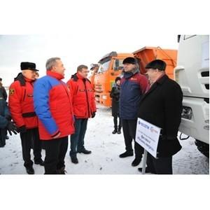 Энергетики МРСК Центра и Приволжья в Рязанской области продемонстрировали готовность к паводку