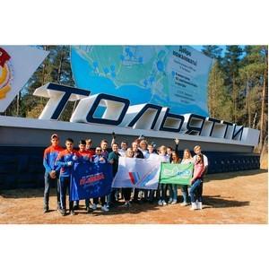 Активисты ОНФ завершили ремонт въездной стелы города Тольятти