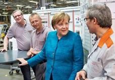 Канцлер Германии Ангела Меркель открыла новый центр разработок Viessmann