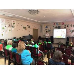 Инспекторы ГИБДД Зеленограда посетили Центр поддержки семьи и детства «Зеленоград»