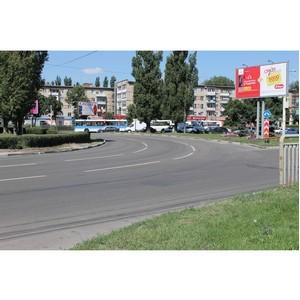 Активисты Народного фронта добились ремонта дорог в Воронеже, отмеченных на интерактивной карте ОНФ