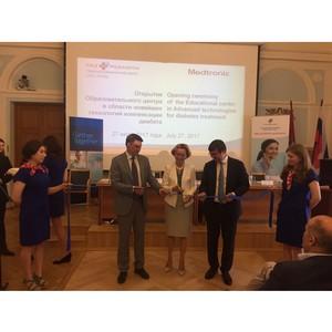 Научный клинический центр ОАО «РЖД» и Medtronic открыли Образовательный центр для врачей