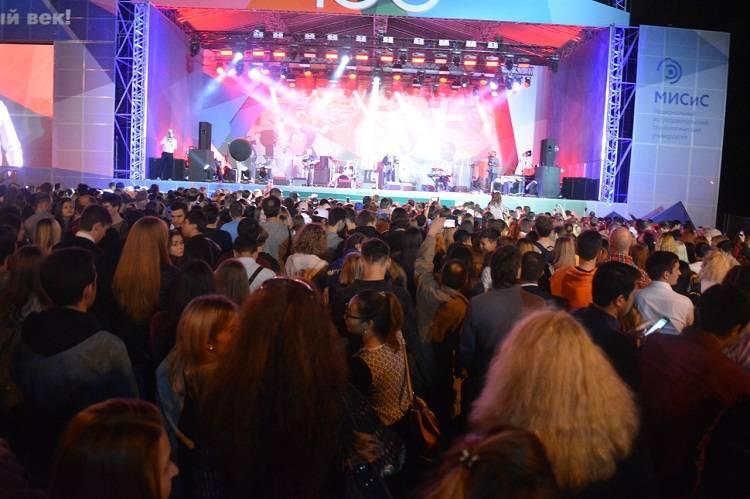 В Парке Горького состоялась юбилейная «Встреча поколений» Московской горной академии