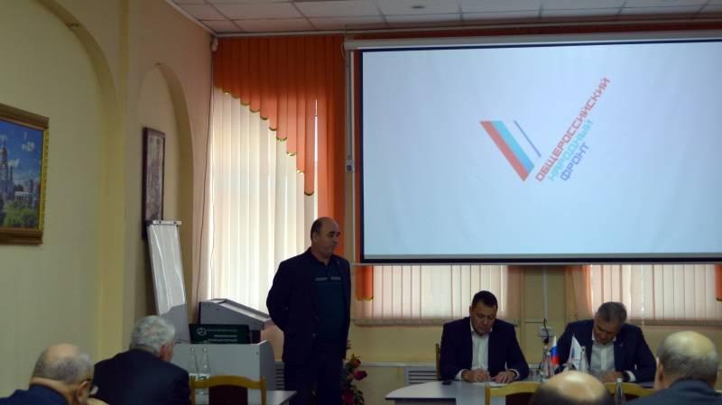 В Мордовии активисты ОНФ подвели итоги реализации приоритетных проектов