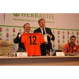 Компания Herbalife и ФК «Шахтер» объявляют о начале сотрудничества