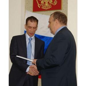 Главный инженер Пензенского филиала Федерального БТИ Сергей Ирышков отмечает юбилей