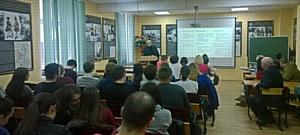 Александр Киринюк ответил на вопросы студентов
