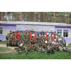 Амурские активисты ОНФ приняли участие в проведении военно-патриотических сборов