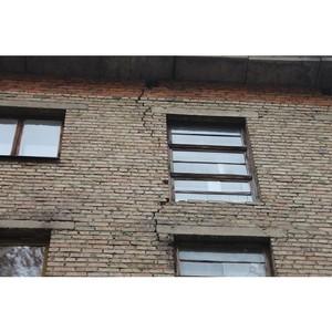 Стройжилнадзор Коми подтвердил выводы ОНФ об угрозе обрушения двух домов в Сыктывкаре