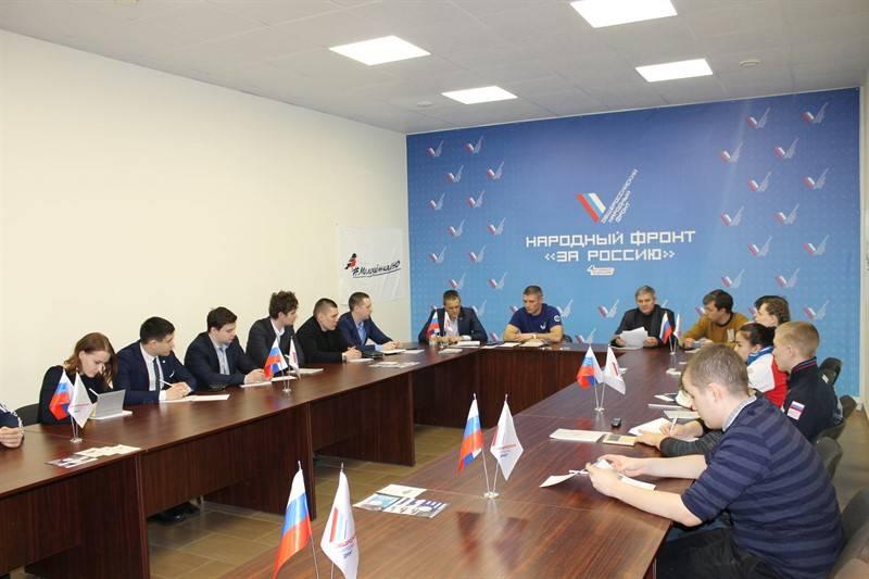 В челябинском штабе Народного фронта прошло заседание команды «Молодежки ОНФ»