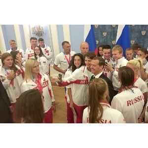 Дмитрий Медведев поздравил молодых спортсменов «Швабе» с победой на Универсиаде