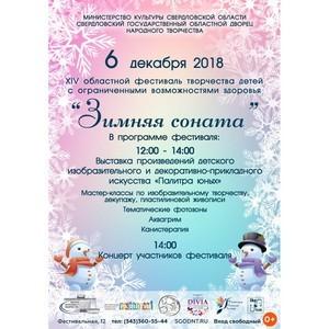 XIV областной фестиваль творчества детей с ограниченными возможностями здоровья «Зимняя соната»