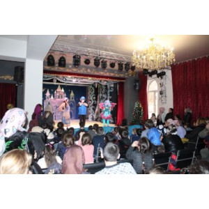 Активисты ОНФ в Чечне провели акцию «Новогоднее чудо» для детей-инвалидов