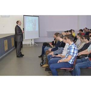 Ўкольников и студентов региона познаком¤т с профессиональными секретами энергетиков