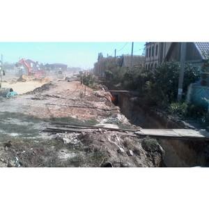 Волгоградские активисты ОНФ взяли на контроль ход реконструкции шоссе Авиаторов в поселке Гумрак