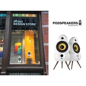 Podspeakers в магазинах центра дизайна MoMA в Нью-Йорке