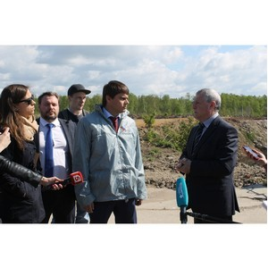 Активисты ОНФ в Петербурге проинспектировали полигон сточных вод «Северный»