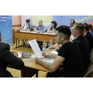 Оренбургские эксперты ОНФ обсудили с активными гражданами реализацию проекта «Генеральная уборка»