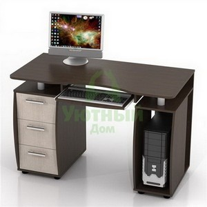 Этой весной выбор компьютерных столов в «Уютном доме» стал еще шире