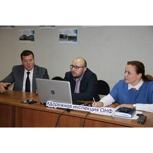 Активисты Народного фронта в Коми обсудили проект «Дорожная инспекция ОНФ/Карта убитых дорог»