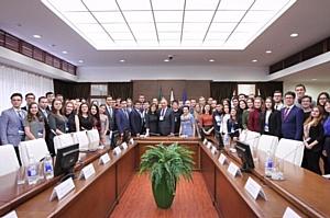 Ректор КФУ открыл заседание Координационного совета студенческих общественных организаций