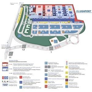 Проект многофункционального терминала Lugaport будет представлен на ПМЭФ-2018